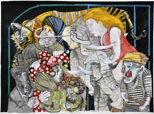 , 'Una familia funcional I,' 2017, Galerie Claire Corcia