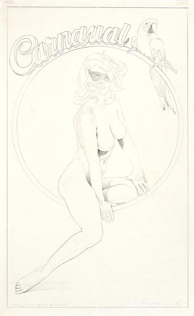, 'Study for Fiestas de Invierno,' 1990, LEVY Galerie
