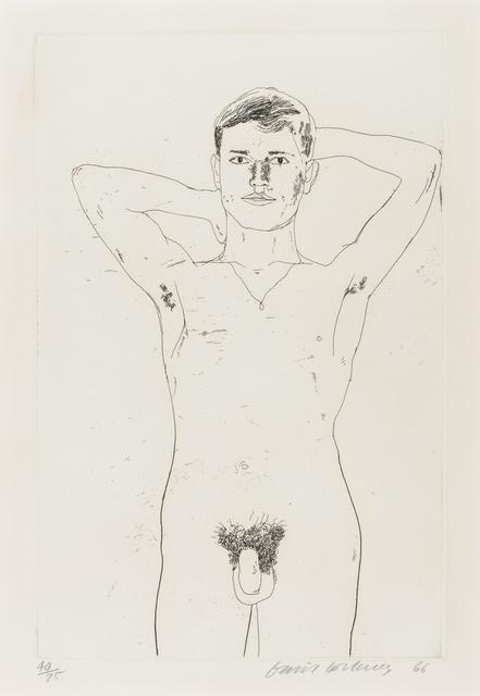 David Hockney, 'In an old book (MCA Tokyo 52)', 1966, Forum Auctions