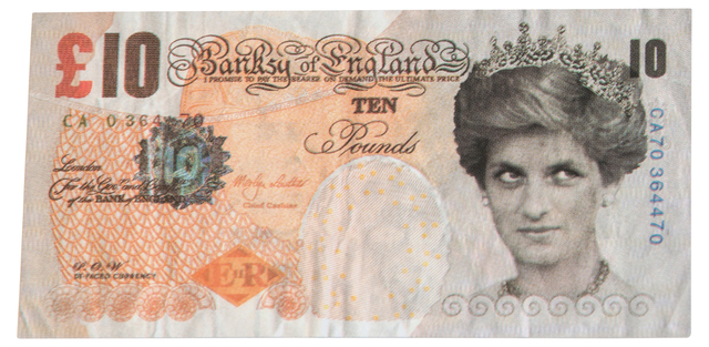 Banksy, 'Di Faced Tenner', 2004, EHC Fine Art: Essential Editions VII