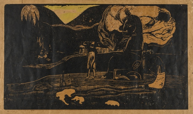 Paul Gauguin, 'Maruru (Kornfeld 22 III C)', 1893-94, Forum Auctions