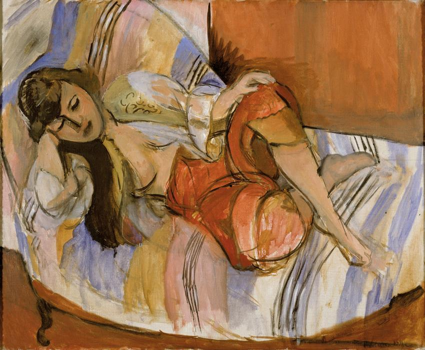 Henri Matisse, Odalisque, 1921