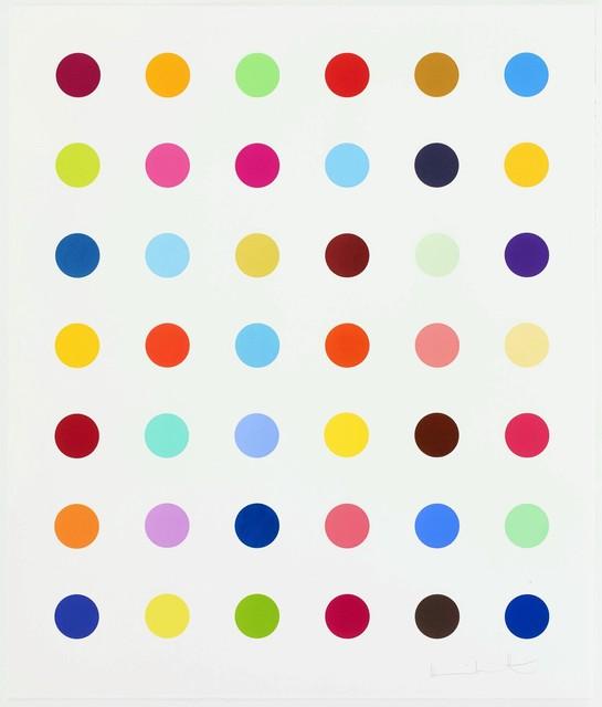Damien Hirst, 'Isocytosine', 2017, Reuben Colley Fine Art