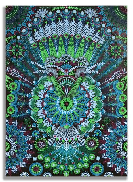 , 'Kaleidoscopic Nature 4,' 2018, Jonathan LeVine Projects