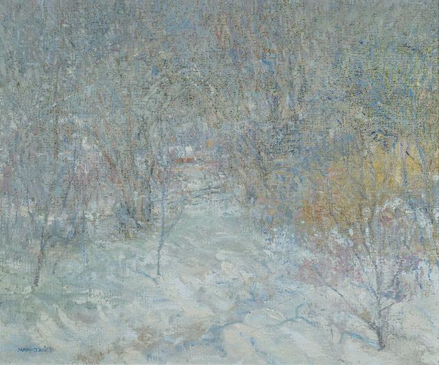 Mark Dance, 'Unionville Winter Landscape', 2019, Somerville Manning Gallery
