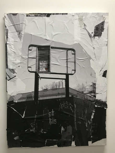 , 'Refugees Welcome,' 2017, LatchKey Gallery