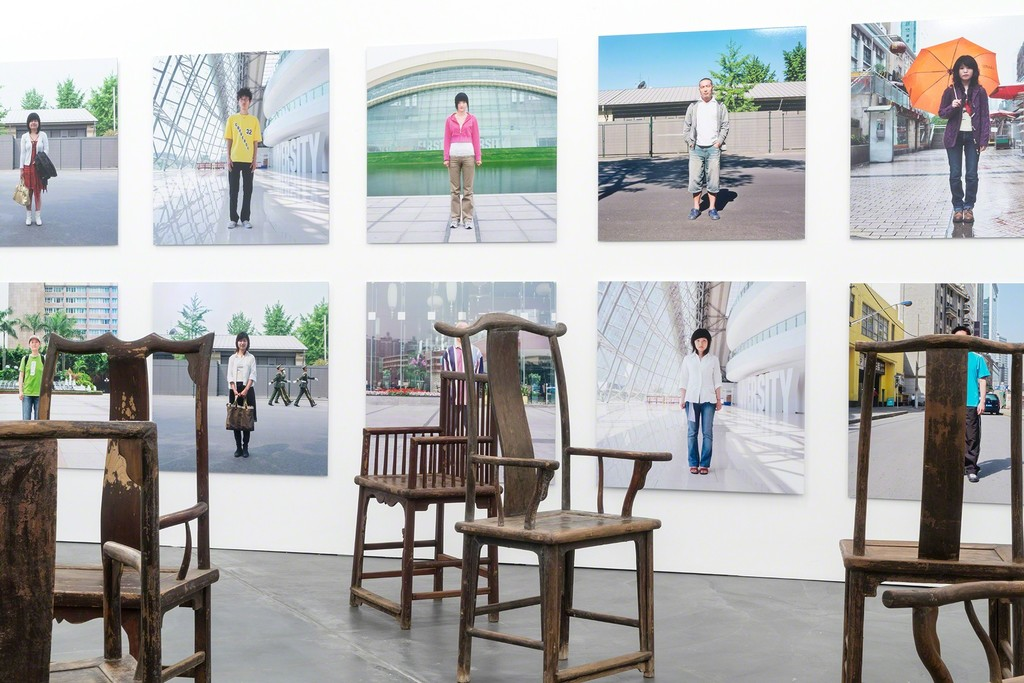 Ai Weiwei, Fairytale People, 2007, C-Print, 16 of 1001 parts: each 100 x 100 cm, Courtesy of the artist;