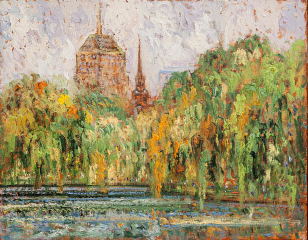 , 'Boston Park,' 2018, Galerie d'Orsay