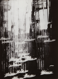 Harry Callahan, 'Alley, Chicago,' 1948, Phillips: The Odyssey of Collecting