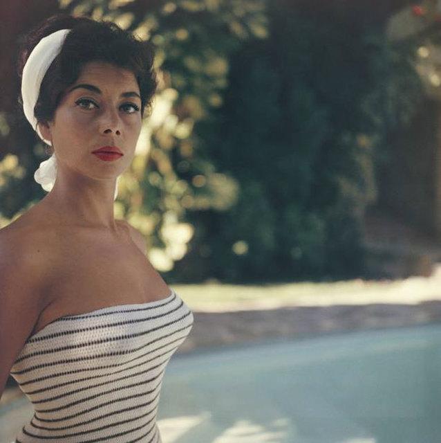 Slim Aarons, 'Francine Brandt in Acapulco', 1961, IFAC Arts