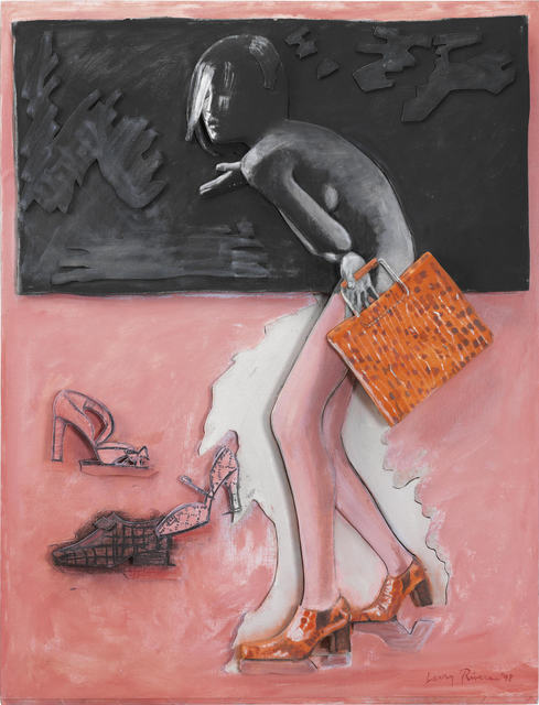 Larry Rivers, 'Figure, Shoes and Bag', 1998, The Sunfair Gallery