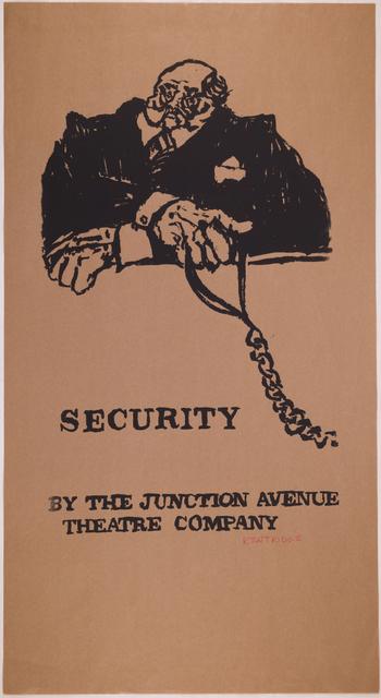 , 'Security,' 1979, Sylvan Cole Gallery