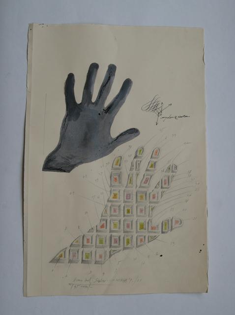 ", '""Human hand shadow"",' 1973, Allegra Nomad Gallery"