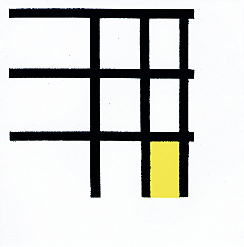 , 'Mondrian,' 2002, Crown Point Press