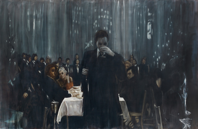 , 'Man in front of Table,' 2014, Gallery Baton