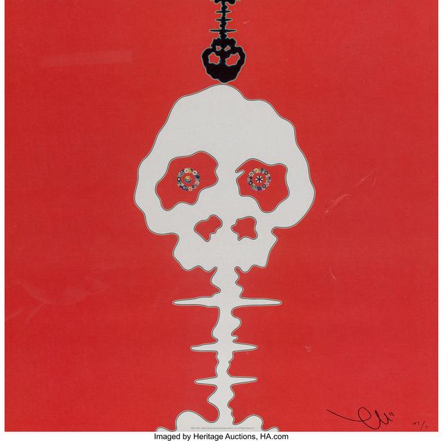 Takashi Murakami, 'Red-Time', 2008, Heritage Auctions