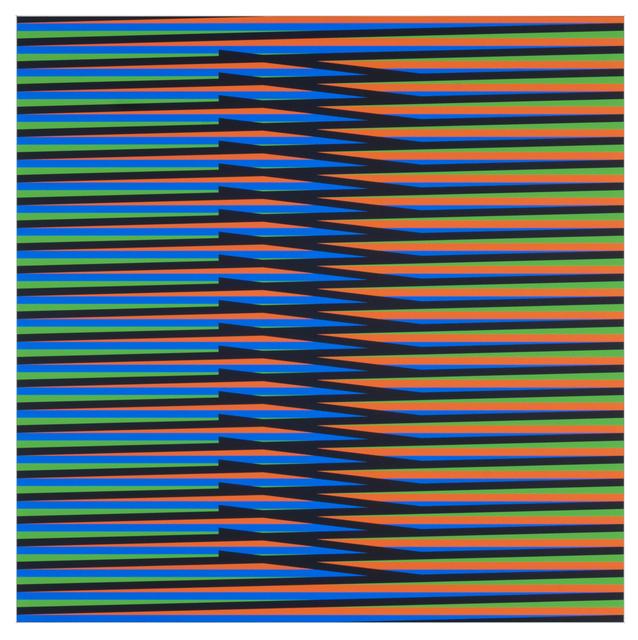Carlos Cruz-Diez, 'Inducción Cromática a Doble Frecuencia Nora 2', 2011, Galería RGR