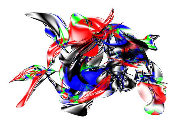 , 'RGB Sonica Whisper,' 2006, IFAC Arts