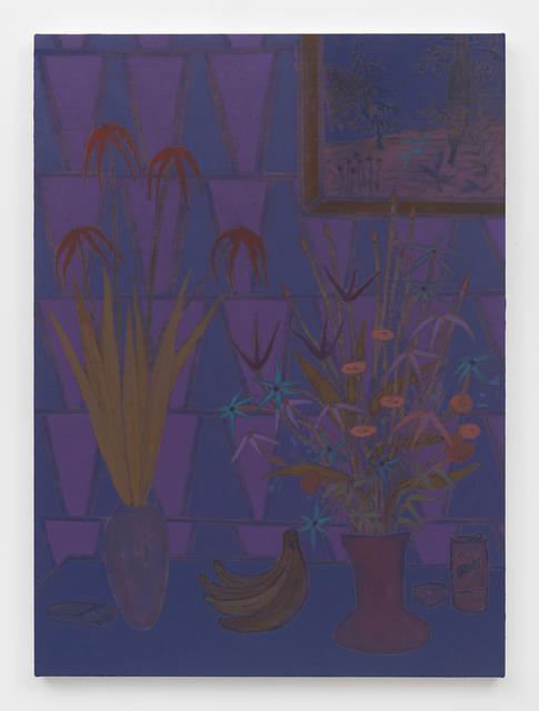 , 'darksome alit lightly,' 2016, James Fuentes