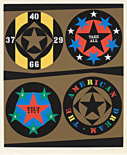 Robert Indiana, 'Decade (The American Dream)', 1971, Hamilton-Selway Gallery Auction