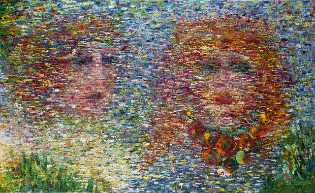 , 'Love whispering,' 2016, Ayyam Gallery