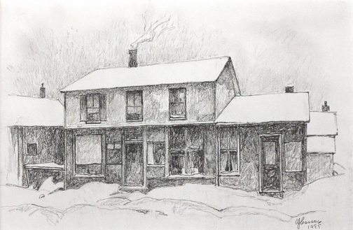 A.J. Casson, 'AN OLD STORE IN THE WARD', 1985, Roberts Gallery Ltd.