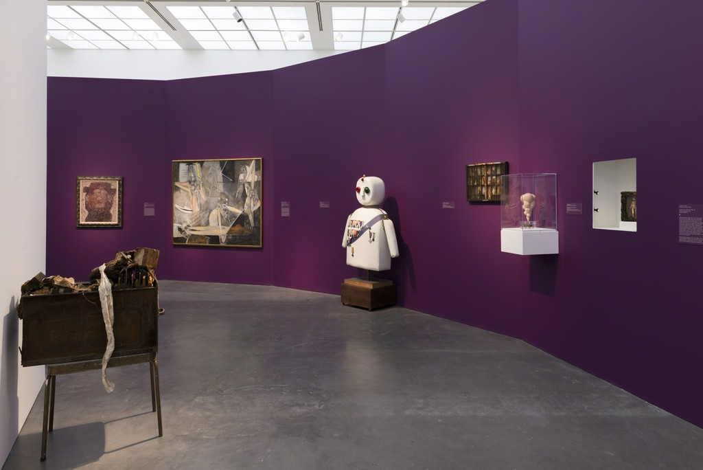 Installation view, Surrealism: The Conjured Life, MCA Chicago, Nov 21, 2015–Jun 5, 2016. Photo: Nathan Keay, © MCA Chicago.