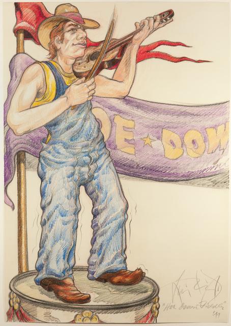 , 'Hoe Down Fiddler (Fargo, ND),' 1979, ACA Galleries