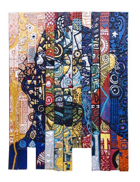 """Gerald Chukwuma, '""""THE KING MAKER'S STORY""""', 2019, Kristin Hjellegjerde Gallery"""