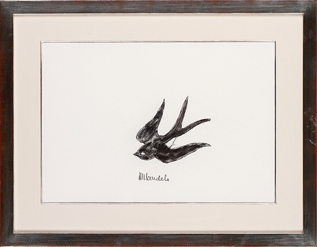 , 'Swallow, black,' ca. 2000, Belgravia Gallery
