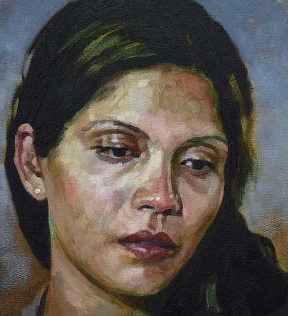 , 'Priya,' 2018, Reuben Colley Fine Art