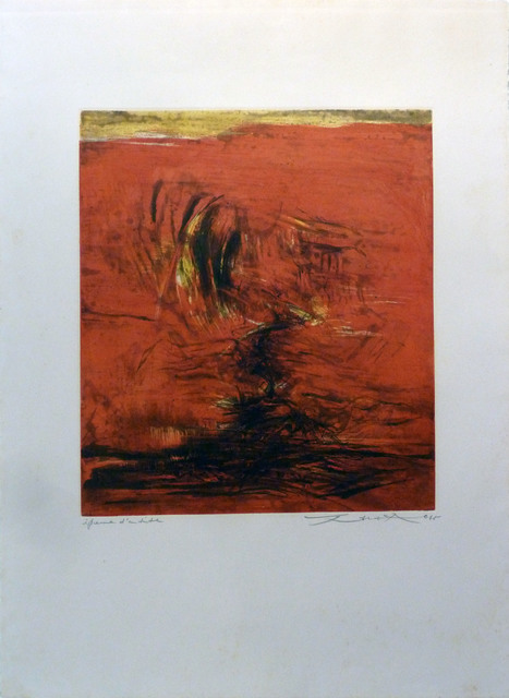 Zao Wou-Ki 趙無極, 'No title', 1965, Le Coin des Arts