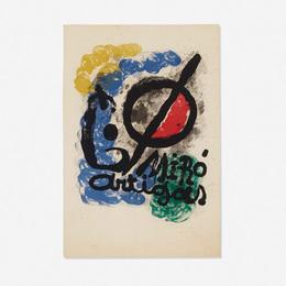Joan Miró, 'Affiche pour l'Exposition Miro-Artigas,' 1963, Wright: Prints + Multiples (January 2017)