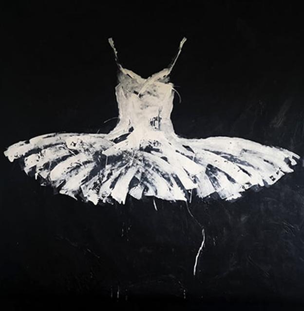 , 'white,' 2019, Galleria Ca' d'Oro
