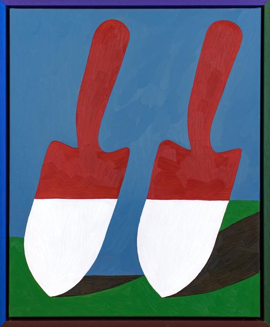 , 'Barn-Red Spades,' 2018, PUBLIC Gallery