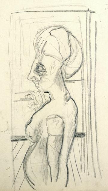, 'Ohne Titel (weiblicher Akt vor offenem Fenster) / No title (female nude in front of open window),' ca. 1928, Henze & Ketterer