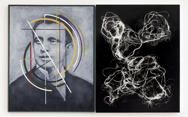 , 'Der Zerfall der Eigenschaften / Collapse of Features,' 2014, Kadel Willborn
