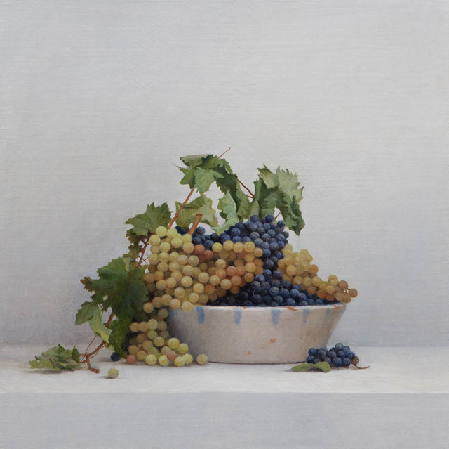 , 'White and Black Grapes,' 2015, Ransom Art