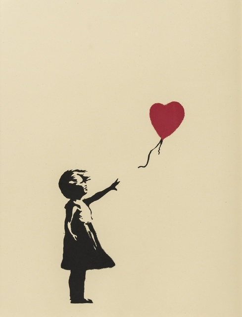 Banksy, 'Girl With Balloon', Forum Auctions