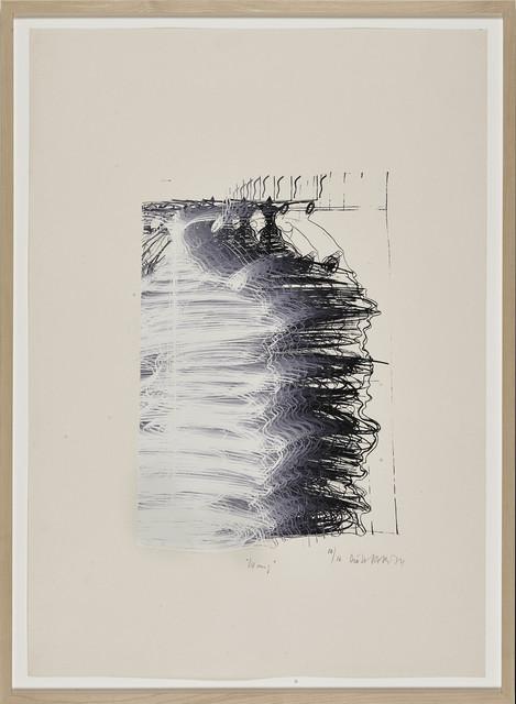 , 'Fetter Blitz (Fat Flash),' 1974, BERG Contemporary