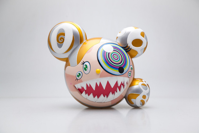 Takashi Murakami, 'Mr. Dob (Gold)', 2016, Sculpture, Painted cast vinyl, Tang Feng Gallery