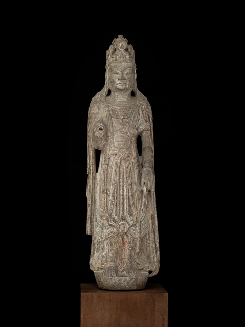 'Standing Bodhisattva', 6th-7th century, Avery Library