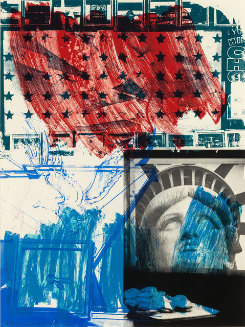 Robert Rauschenberg, 'People for the American Way', 1991, MILL Contemporary