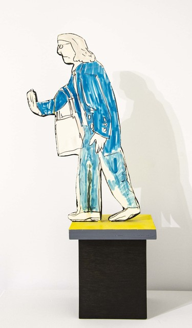 Red Grooms, 'Old Lady (maquette for installations in Chicago)', 1995, Elan Fine Art