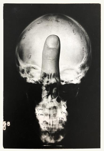 Ketty La Rocca, 'you, you', 1972, Kadel Willborn