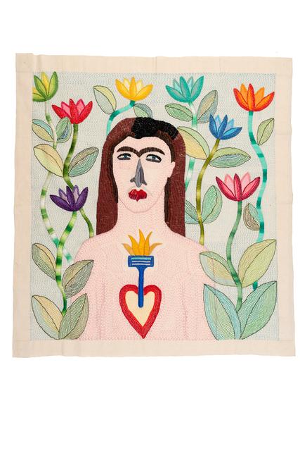 Paloma Castillo, 'Pedro', 2016, Textile Arts, Hand Embroidery, Isabel Croxatto Galería