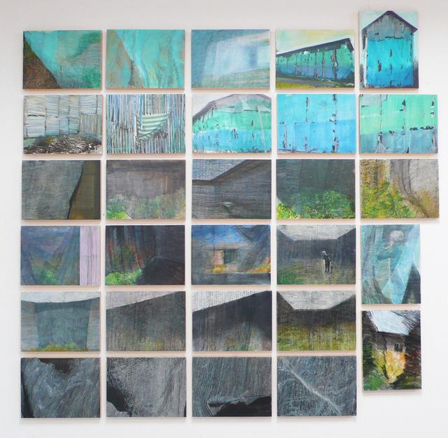 , 'Serie de 30 pinturas,' 2013, maserre +R