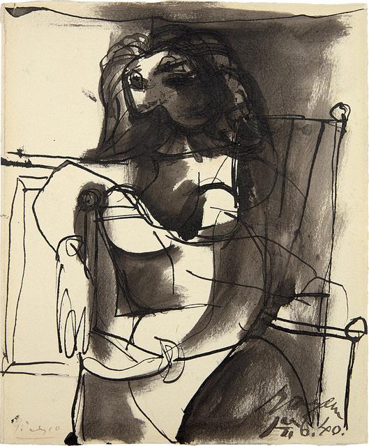 Pablo Picasso, 'Buste de femme assise dans un fauteuil', 14763, Phillips