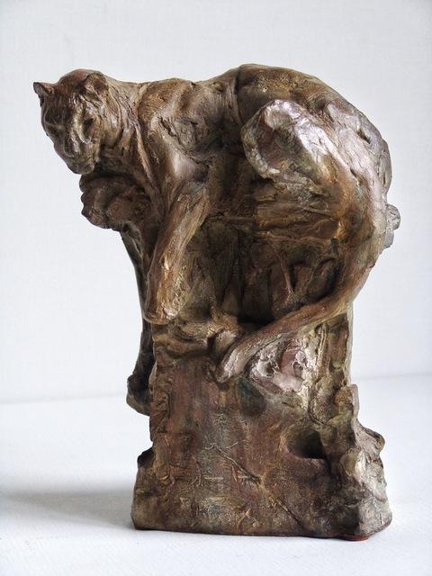 , 'Petit léopard sur le rocher ,' 2017, Galerie Bayart