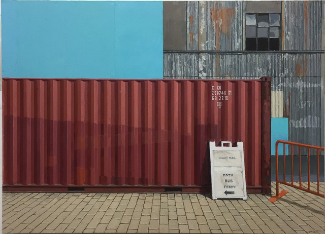 , 'Container at Hoboken Path Station,' 2018, Gallery Henoch